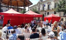 Cocineros locales demuestran sus habilidades con cerezas de las Caderechas en Miranda de Ebro