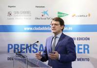 El presidente de la Junta, Alfonso Fernández Mañueco, inaugura la VII Edición del Curso Prensa y Poder