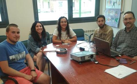 Cuatro cooperantes colaboran este verano en UBUBangalore