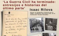 El historiador Isaac Rilova descubre en el Palacio de la Isla los entresijos del último parte de guerra, firmado en el edificio