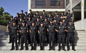 20 agentes en prácticas se integran en la plantilla de la Policía Nacional de Burgos