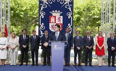 Toma de posesión de los nuevos consejeros en la Junta de Castilla y León (1/2)