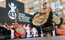 Clausura del 43 Festival Internacional de Folclore Ciudad de Burgos
