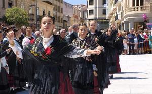 Adrada de Haza acoge este sábado el Festival Nacional de Folclore