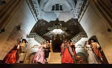 La Escalera Dorada de la catedral acogerá los días 27 y 28 de julio la obra de teatro 'Una Catedral soñada'
