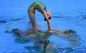 España, sexta en la rutina libre por equipos
