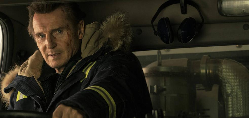Liam Neeson: «No soy muy bueno improvisando»