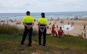 Muere ahogado un burgalés de 51 años en la playa de Merón, en San Vicente de la Barquera
