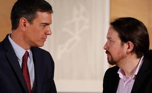 PSOE y Podemos apuran las horas para pactar el reparto del nuevo Gobierno