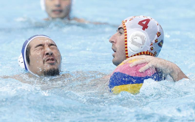 España pasa a cuartos en waterpolo