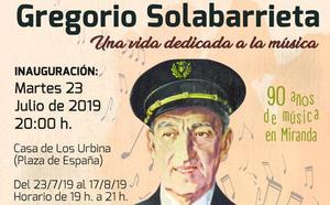 Miranda inicia una semana de homenajes al músico Solabarrieta, compositor de los himnos más icónicos de la ciudad