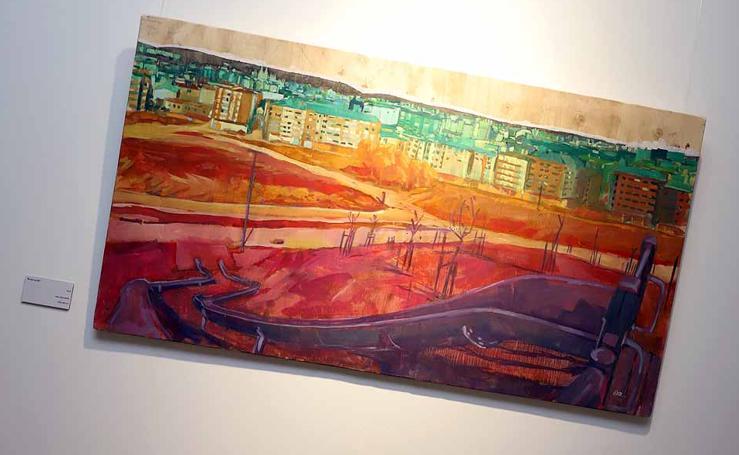Imágenes de la exposición 'Lugar' de Diego Alonso Moral