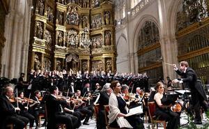La Orquesta y Coro Titulares del Teatro Real interpretan el Réquiem de Mozart en la Catedral de Burgos para conmemorar su VIII Centenario