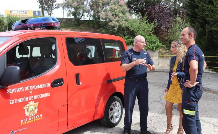 El Parque de Bomberos de Burgos recibe dos nuevos vehículos