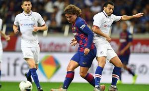 Un Barça con 'jet lag' cae ante el Chelsea en el debut de Griezmann