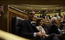 Imágenes del segundo día del debate de investidura de Pedro Sánchez
