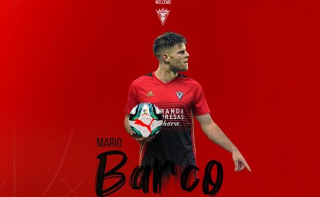 El olfato goleador de Mario Barco llega al Mirandés