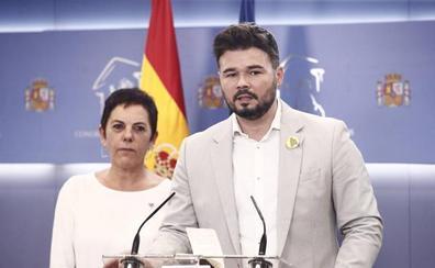 ERC y Bildu se abstendrán en la segunda votación de investidura de Sánchez