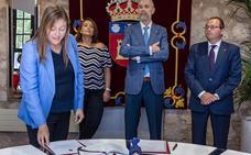 Verónica Calderón y Cristina Alonso Tristán, las dos primeras mujeres catedráticas de la Politécnica