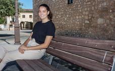 Ángela Ortega, la primera estudiante de la UBU que participa como voluntaria en el Cuerpo Europeo de Solidaridad