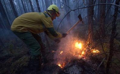 Avanza el mayor incendio registrado nunca antes en Siberia y en zonas del Ártico