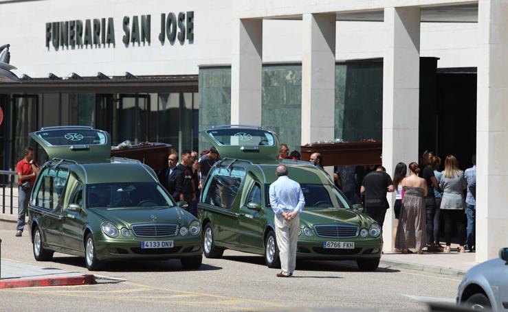 Funeral de Josefa y Rafael, el matrimonio fallecido en Villagonzalo Pedernales