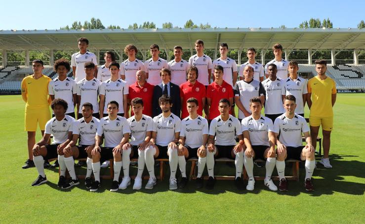 Imágenes de los jugadores del equipo Juvenil A del Burgos CF