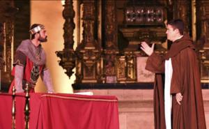Oña vuelve al siglo XI para rememorar su historia a través del Cronicón, la obra más antigua de la provincia