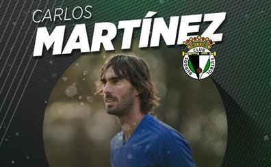 Carlos Martínez, nuevo jugador del Burgos