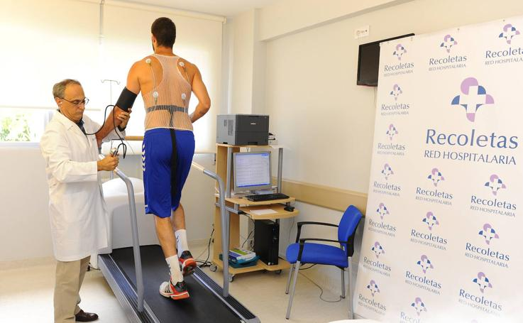 Reconocimientos médicos del San Pablo Burgos