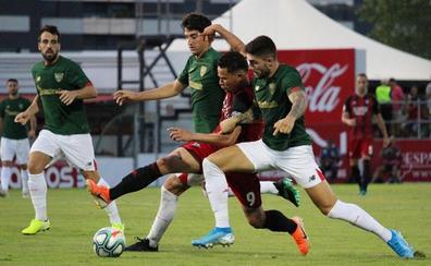 El Mirandés no pudo con el Athletic pero termina con buenas sensaciones