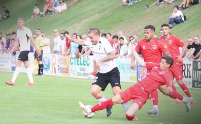 El Burgos da la cara ante un rival de Segunda