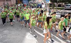 I Marcha contra el cáncer en Huerta de Rey