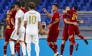 El Madrid eleva el pulso pero sigue sin fortuna