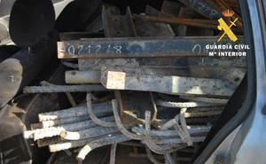Tres detenidos por el hurto de material de obra en la autovía A-73 (Burgos-Aguilar de Campoo)
