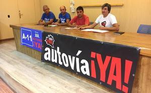 Soria ¡Ya! y colectivos de Burgos y Valladolid crean un frente común para el fin de la A-11