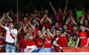 Los aficionados del Mirandés acompañarán al equipo en su estreno en Vallecas