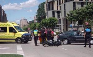 El 5,5% de los fallecidos en accidentes de tráfico en Burgos son motoristas