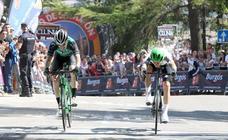 La primera etapa de la Vuelta a Burgos, en imágenes