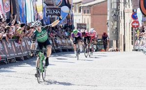 Jon Aberasturi gana en Lerma y Nizzolo mantiene el maillot de líder