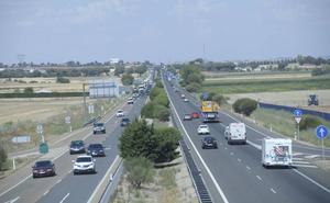 Tráfico espera 168.000 desplazamientos en el puente, condicionado por las fiestas y la Vuelta a Burgos