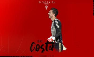 Joao Costa refuerza la portería del Mirandés