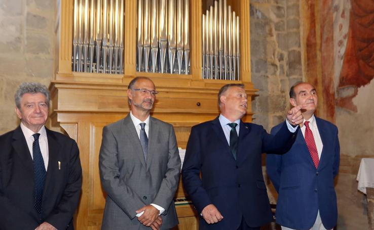 La iglesia de San Esteban de Castrillo Mota de Judíos cuenta con un nuevo órgano