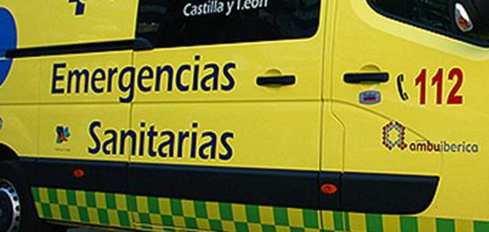 Heridas leves dos mujeres tras una colisión entre un turismo y una furgoneta en Buniel