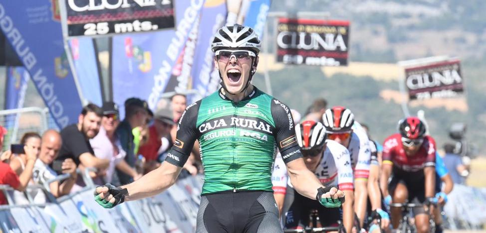 Aranburu: «A ver si tenemos esta misma suerte en la Vuelta»