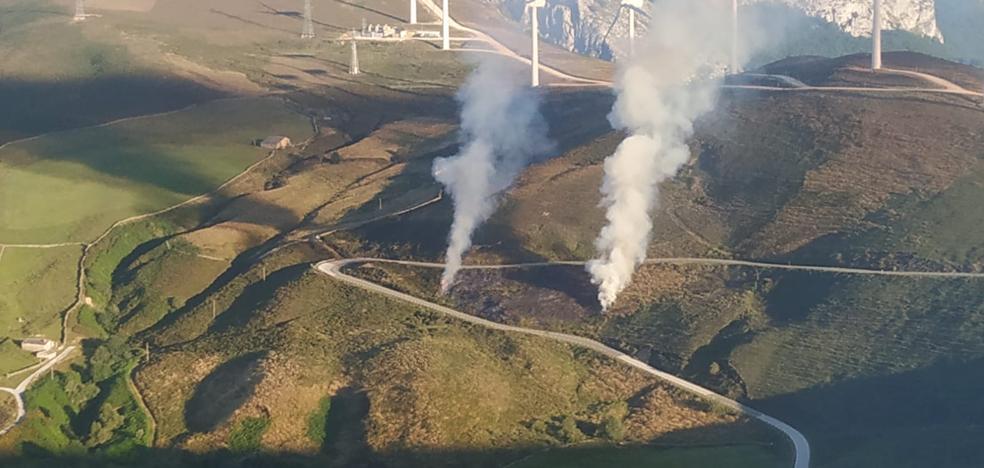 La provincia registra cuatro incendios forestales en las últimas horas, todos de nivel cero