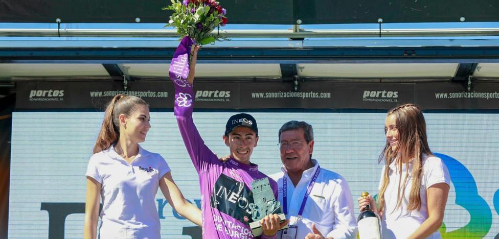 Sosa reina en Neila y vuelve a llevarse la Vuelta a Burgos