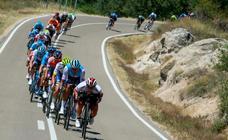 La quinta etapa de la Vuelta a Burgos, en imágenes