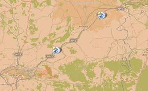 La AP-1 en sentido Miranda de Ebro registra esta tarde tres accidentes, todos sin heridos