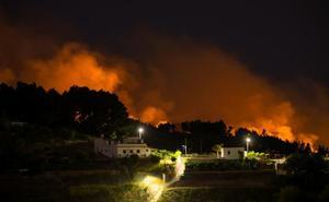 La cifra de evacuados en el incendio de Gran Canaria asciende a 2.000